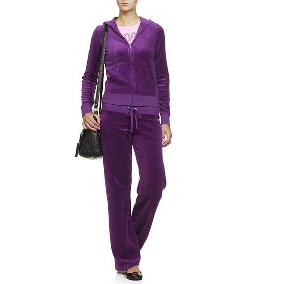 Velour Sweatpants XL Victoria/'s Secret Choice Blush or Black